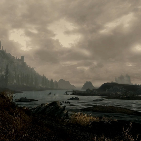 Skyrim Landscape Wallpaper Engine