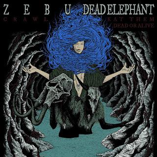 ZEBU & Dead Elephant (7'' split vinyl)