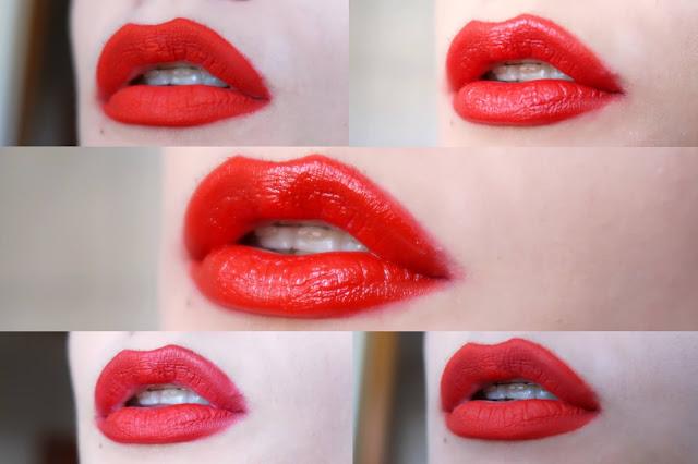 crveni ruž za usne
