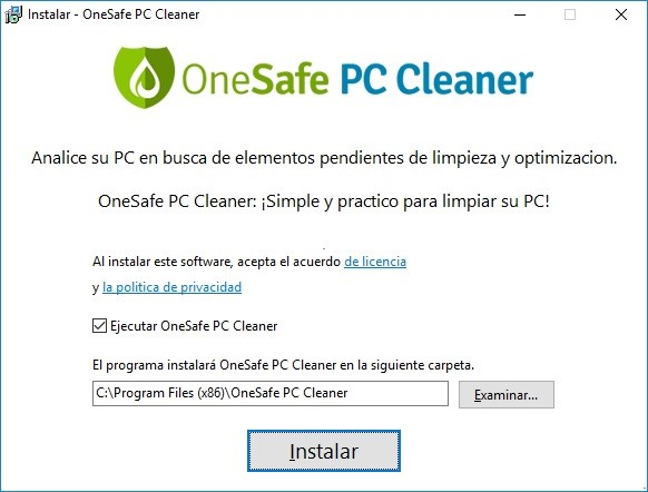 OneSafe PC Cleaner Pro imagenes hd