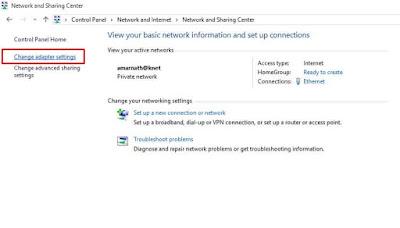 'Ethernet tidak memiliki konfigurasi IP yang valid'