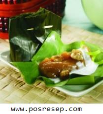 Resep Mudah Kue Keranjang Pisang Kukus Tahun Baru Imlek