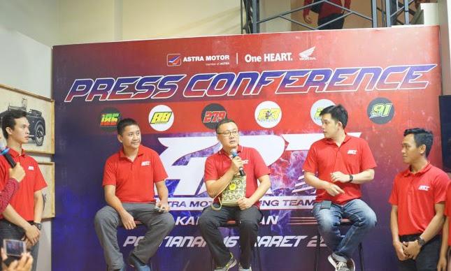 Astra Motor Racing Team Kalimantan Siap Berlaga di Tahun 2019