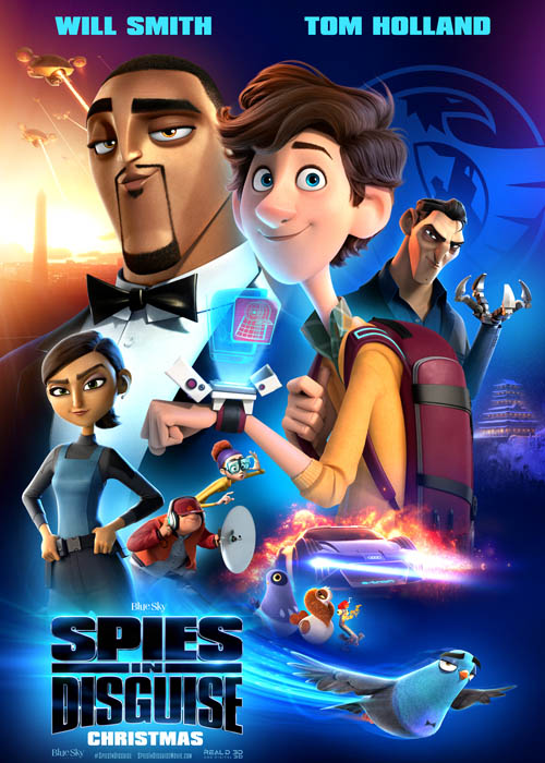 Spies in Disguise Full Movie in Hindi Download 123movies Filmyzilla