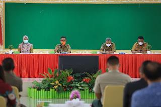 Rapat Koordinasi Terkait Tempat Karantina Mandiri Pasien COVID-19