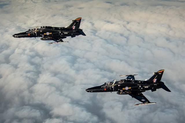UK Qatar Hawk training unit