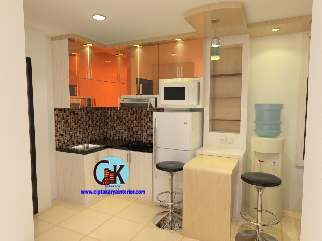 desain interior apartemen gading icon 2 bedroom - cipta karya interior