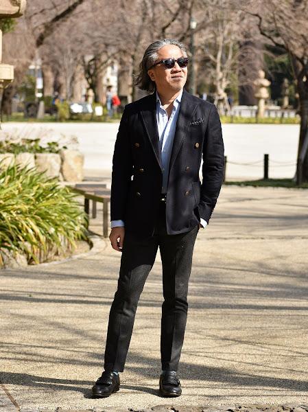 ジャケット&パンツのスタイル