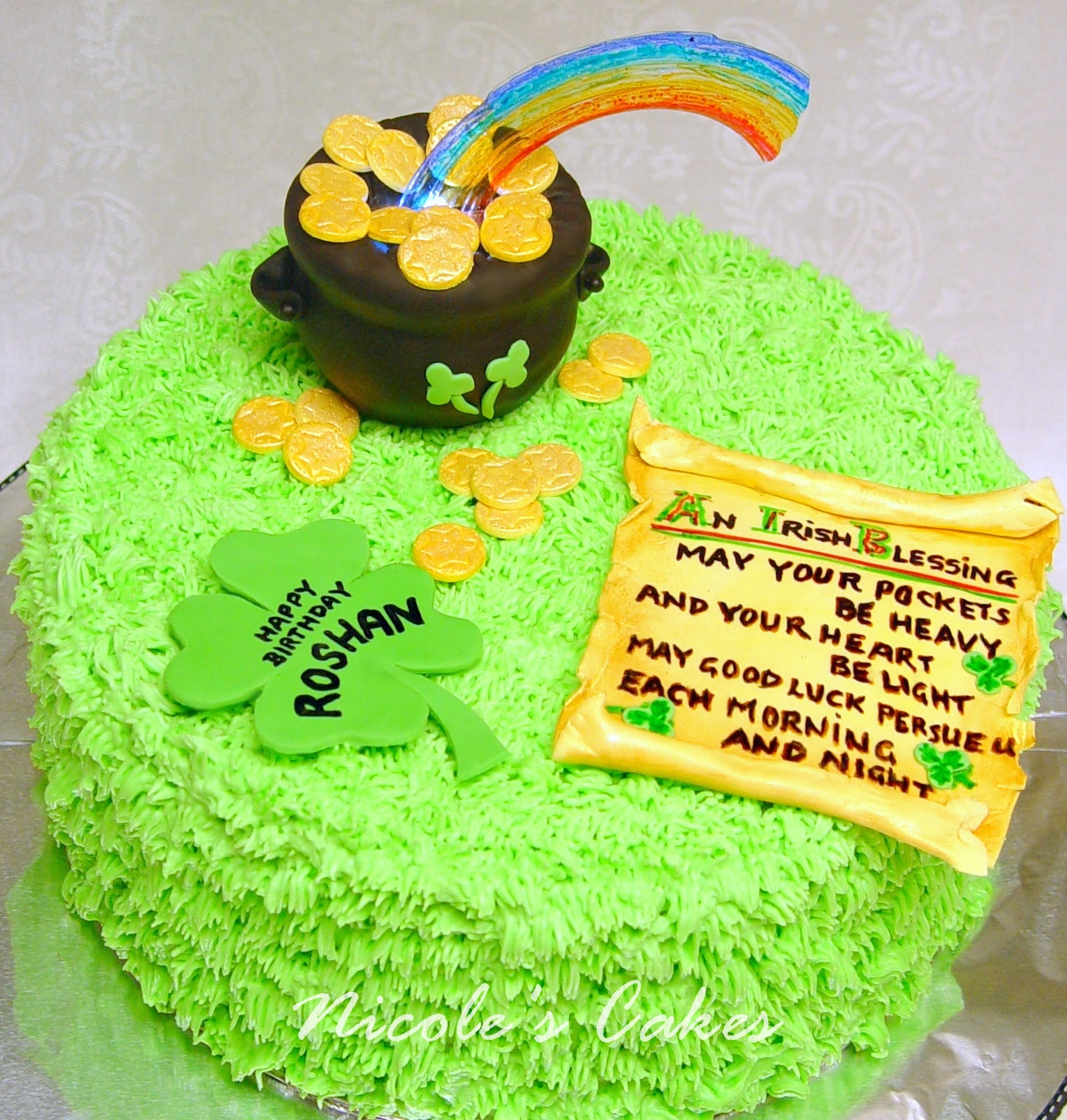 Confections Cakes Creations The Luck O The Irish A St
