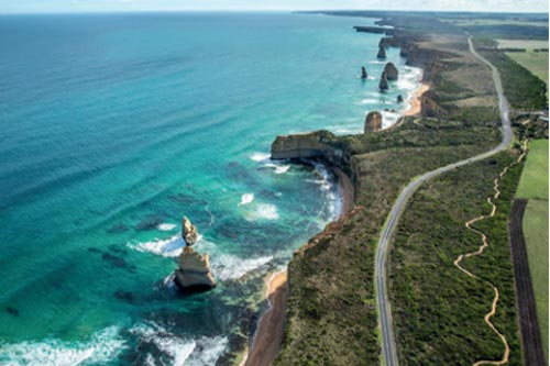 GREAT OCEAN ROAD Australia, 243 km