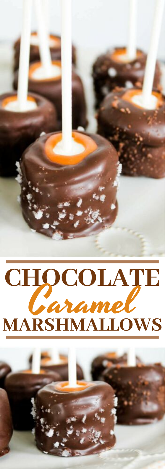 Chocolate Caramel Marshmallows #desserts #chocolate #candy #gifts #thanksgiving
