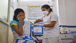 रंगपंचमी पर मप्र में 1.28 लाख लोगों ने लगवाया कोरोना का टीका