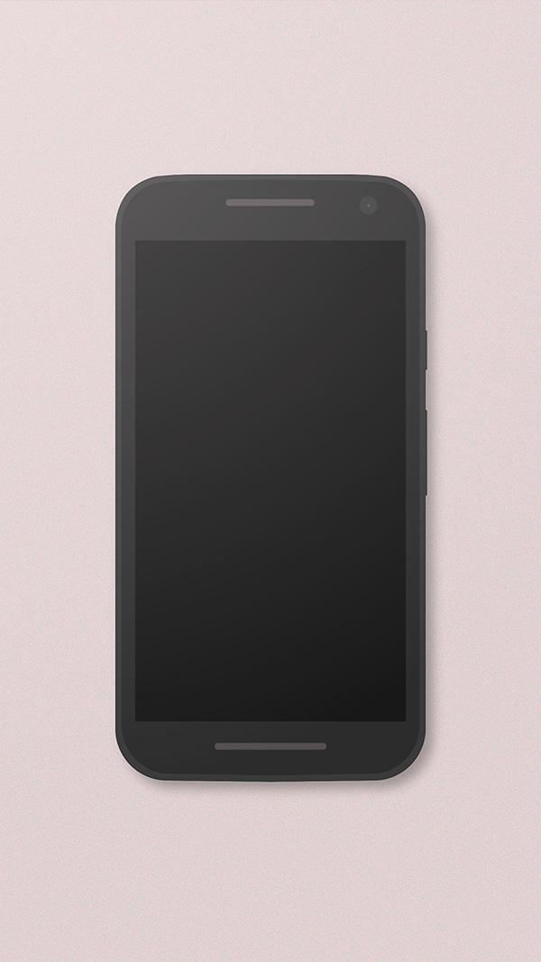 Smartphone & Tablet Mockup PSD Terbaru Gratis - Moto G3 Freebie Mockup