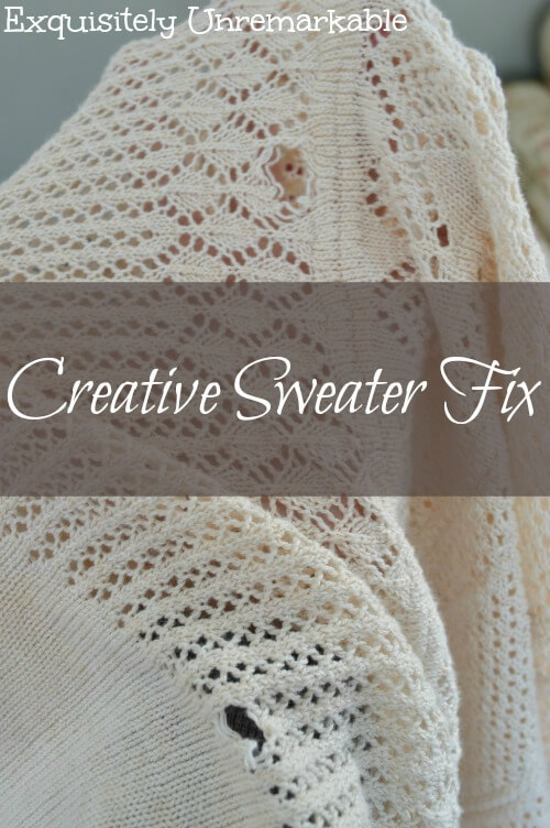 Creative Sweater Fix Pinterest
