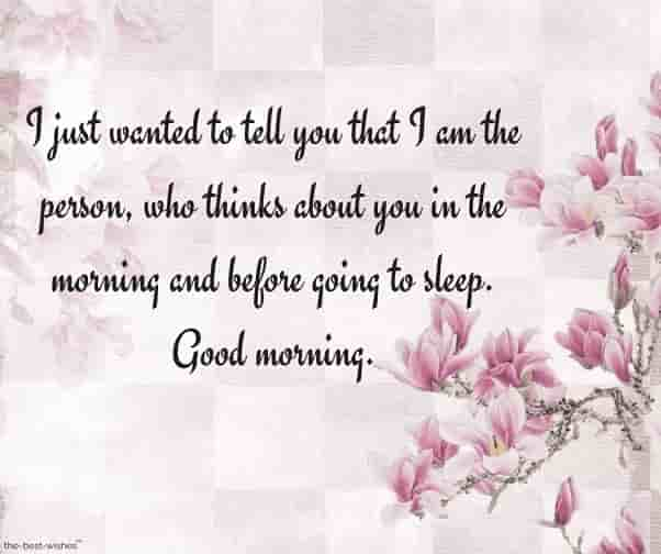 good morning text messages and flowers card images