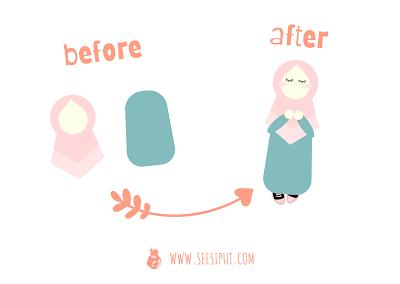 Step Membuat Karakter Muslimah