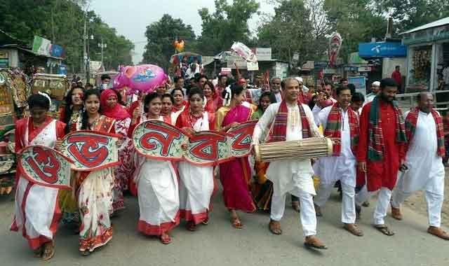 বকশীগঞ্জে নানা আয়োজনে বাংলা নববর্ষ উদযাপন