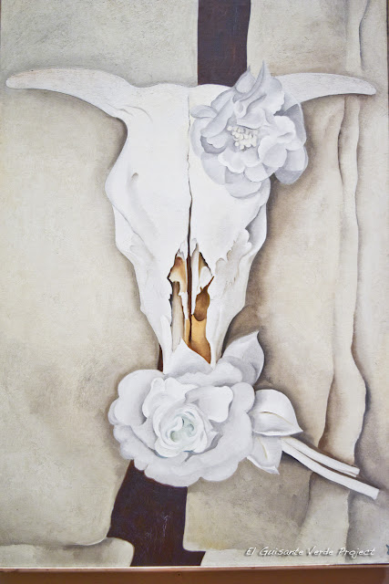 O'Keeffe en el Art Institute de Chicago, por El Guisante Verde Project