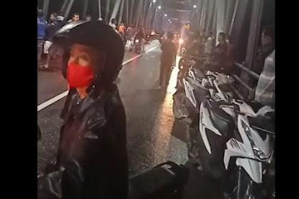 Seorang Wanita Di Ngawi Terjun Di Jembatan Ngunengan