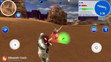 لعبة ساحة معركة الصحراء Critical Survival Desert Shooting