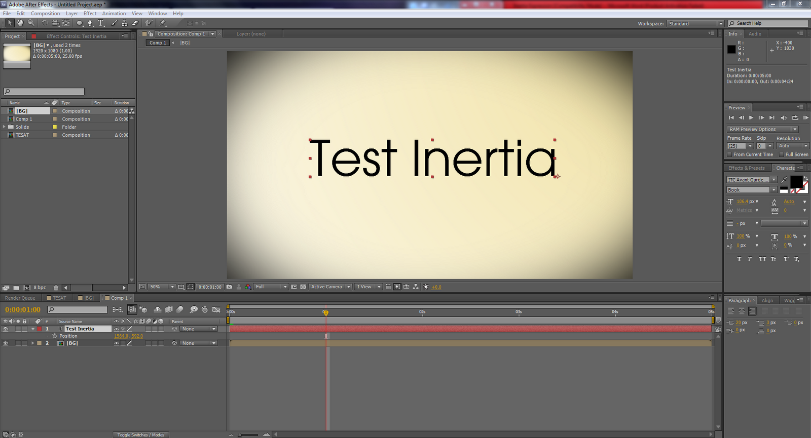 How to add inertia to After Effects | Matt's FDA Media