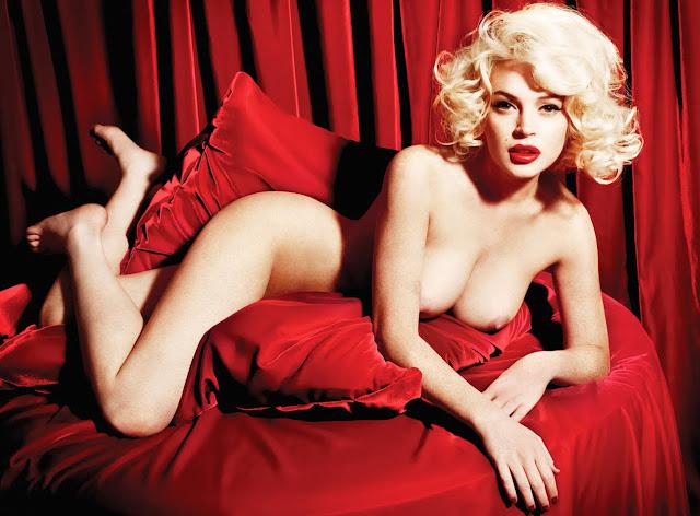 Foto Telanjang Lindsay Lohan