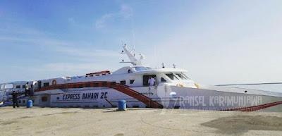 kapal express bahari rute kendal karimunjawa