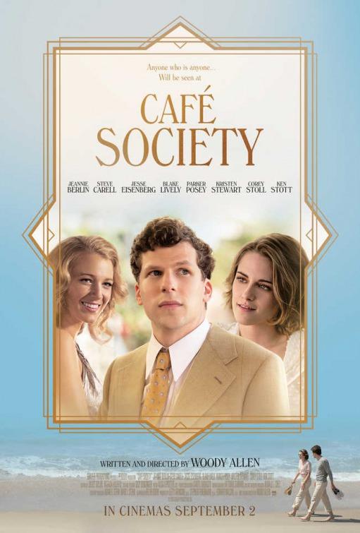 Nuevo póster internacional de 'Café Society' de Woody Allen