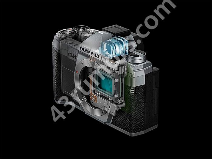 Внутреннее устройство камеры Olympus OM-D E-M5 Mark III