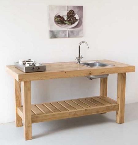 Rustic And Minimalist Kitchen Furniture By Katrin Arens Kitchen