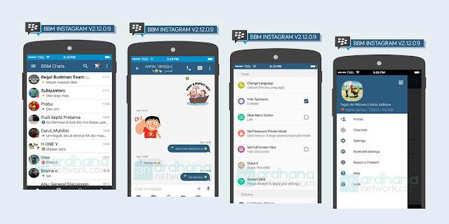 BBM Mod Tema Instagram v2.12.0.9 Apk