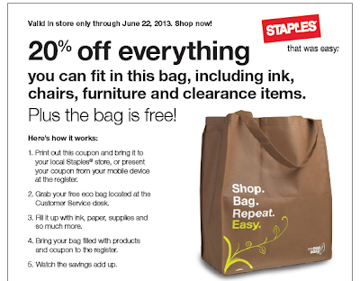 Staples store ad