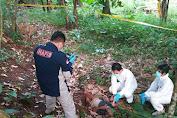 Warga Kampung Cikaung Digegerkan dengan Penemuan Mayat Seorang Pria di Kebun