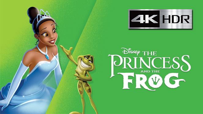 La Princesa y el Sapo (2009) 4K UHD [HDR] Latino-Ingles
