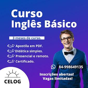 CURSO DE INGLÊS EM ALTO DO RODRIGUES!