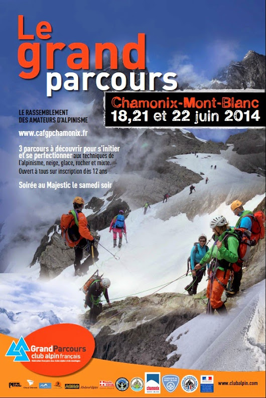 The Grand Parcours Alpinisme returns to Chamonix in June 2014