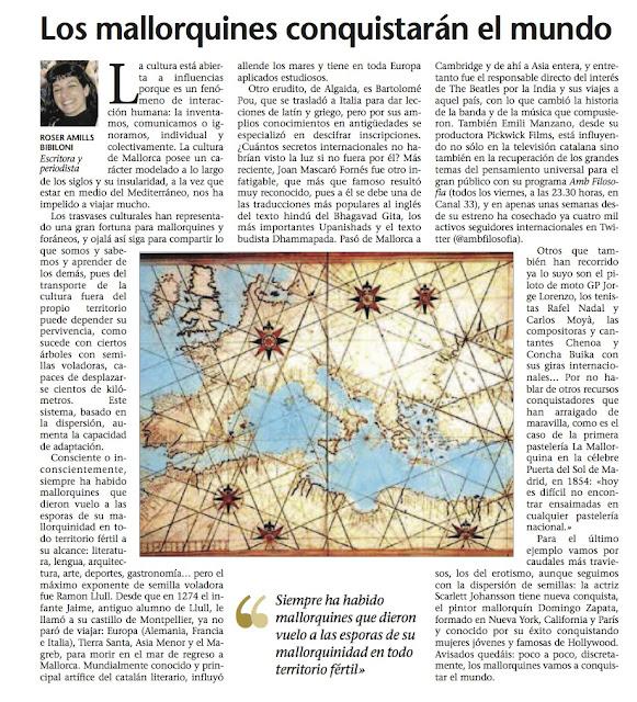 Diario Última Hora | Mi columna en el diario balear @uhmallorca