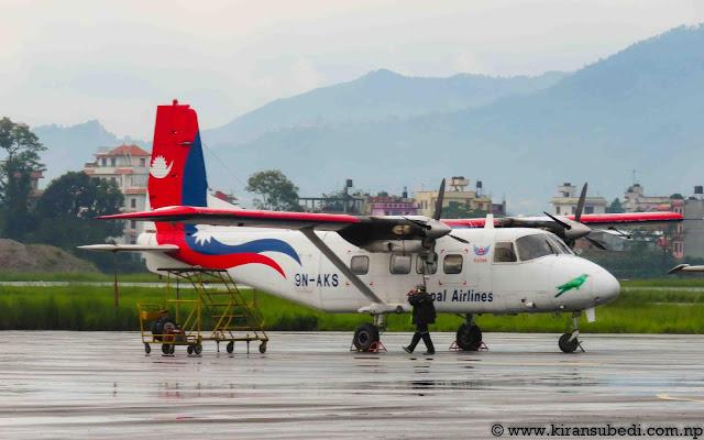 9N-AKS of Nepal Airlines