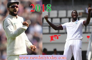 IND vs WI :- भारत ने बनाने 649 रन और जवाब में वेस्टइंडीज ने बनाने 94/6
