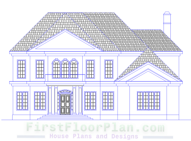 Victorian Style House Elevations