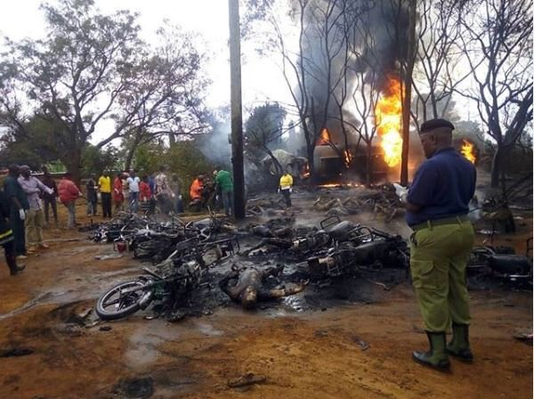 Atleast 50 People killed as Tanker explodes in Tanzania