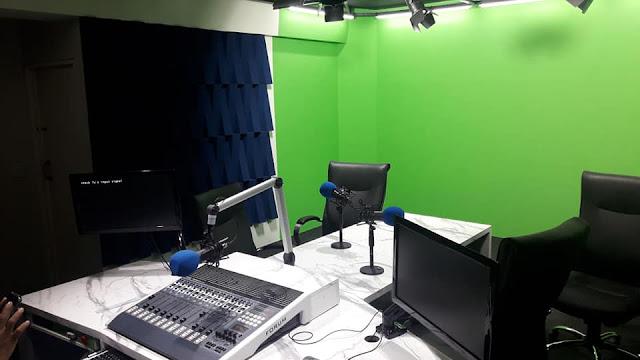 Estúdios da Achei FM de Brasília