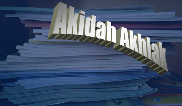 RPP Akidah Akhlak MA Kelas XI Semester Genap Kurikulum 2013 Revisi 2016