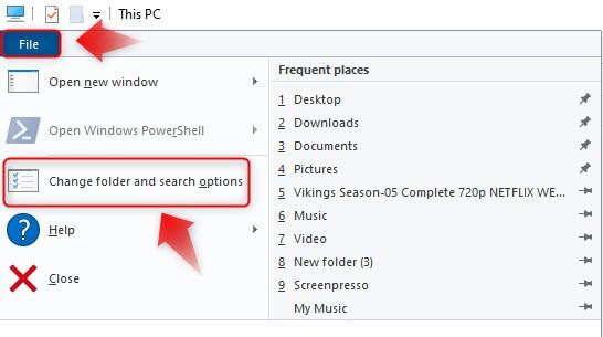 open-folder-one-click