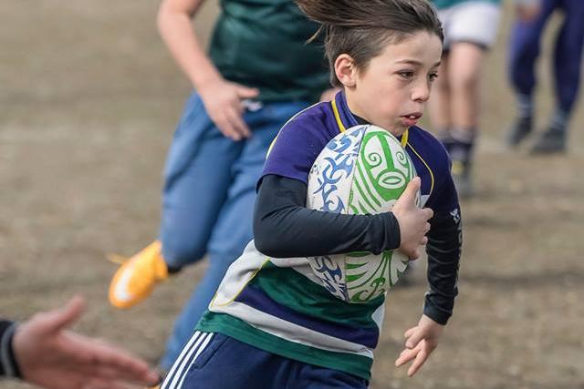 Éste sábado encuentro infantil de Rugby Tag