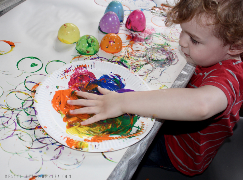 Painting for toddlers and preschoolers