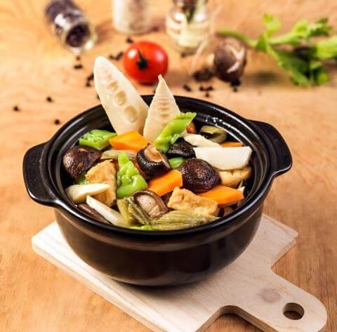 Cách làm món rau củ kho chay