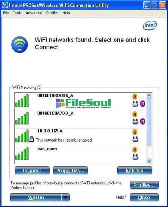 intel proset wireless wifi gratuit