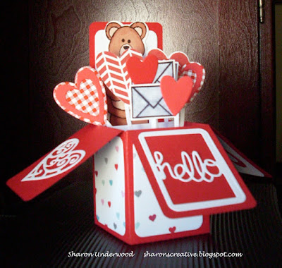 Valentine Box Card