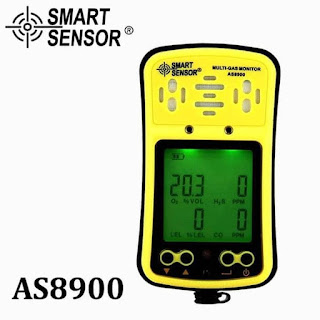 Smart Sensor AS8900 Multi Gas Monitor ( 4 In 1 Detector )